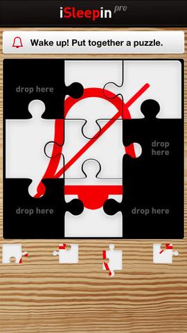 iSleepin puzzelstukjes wakker worden