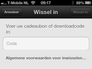 Promocode App Store