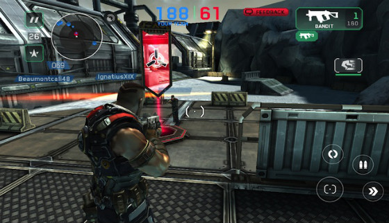 Shadowgun Deadzone iPhone online shooter groot