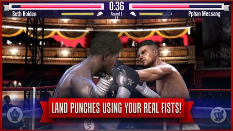 GU DO Real Boxing iPhone screenshot