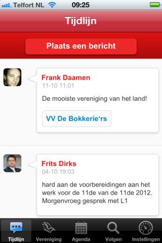 Alaaf Limburg gastenboek van vereniging