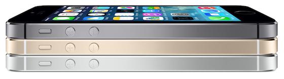 iPhone 5s stapel