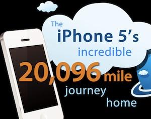 iphone 5 journey
