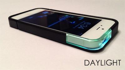Hoesje Met Licht : Sparx iphone case geeft licht bij binnenkomende notificaties
