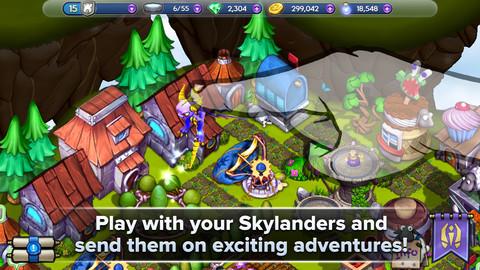 GU VR Skylanders iPhone iPod touch