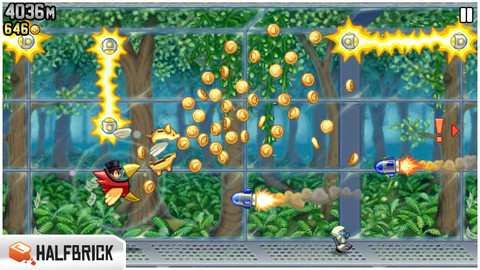 GU WO Jetpack Joyride update iPhone iPod touch