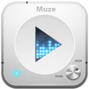 Muze muziekspeler en downloader voor iPhone