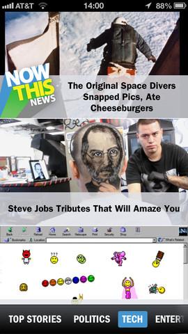 NowThisNews technieuws iPhone