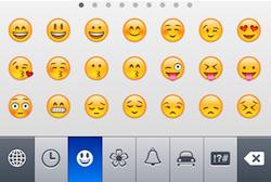 Emoji iOS 6