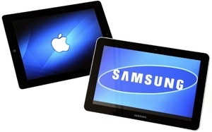 apple samsung tablets