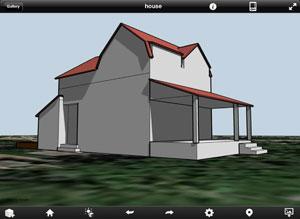 Autodesk formit 3d ontwerpen maken op de ipad for Huizen tekenen