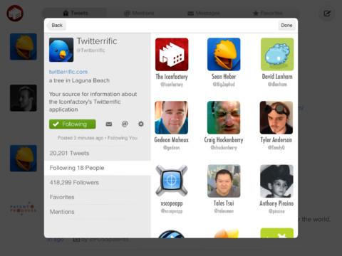 Twitterrific 5 for Twitter header