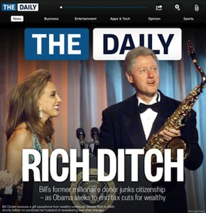 the daily cover