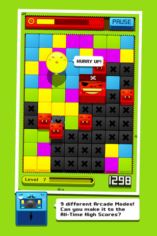Cubles rode blokken domineren