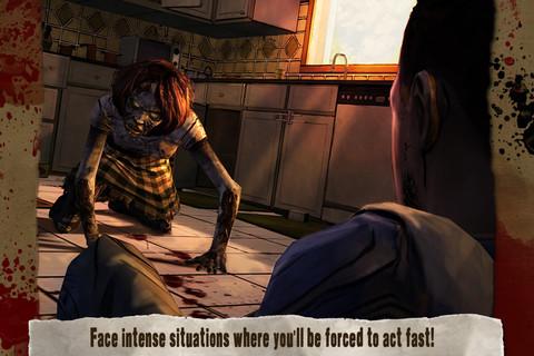 Beste iPhone-games 2012 Walking Dead