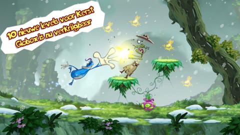 Beste iPhone-games 2012 Rayman Jungle Run