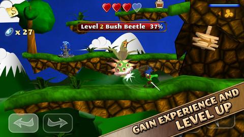 Beste iPhone-games 2012 Swordigo
