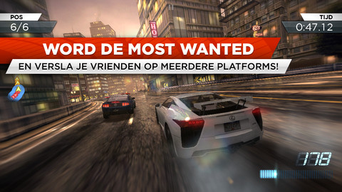 Beste iPhone-games NFS Most Wanted