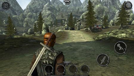 Beste iPhone-games Ravensword Shadowlands