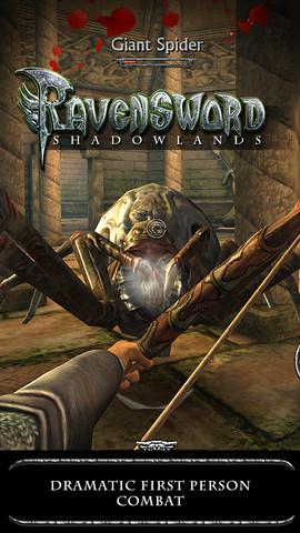 Ravensword Shadowlands spin schieten