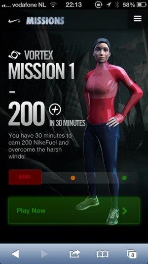 nike missions 2