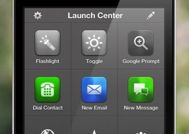 Beste iPhone-apps Launch Center Pro