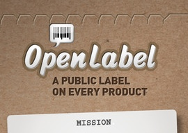 OpenLabel header iPhone iPod touch