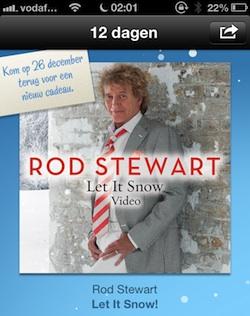 rod stewart 12 dagen cadeau