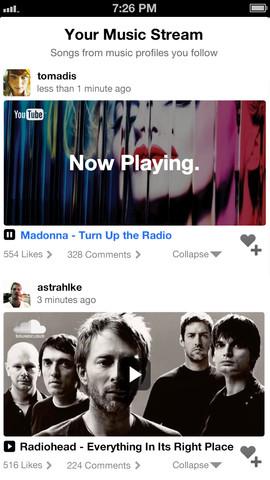 Musicplayr stream van muziek
