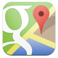 google maps icoon