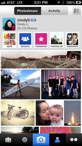 Flickr fotostream