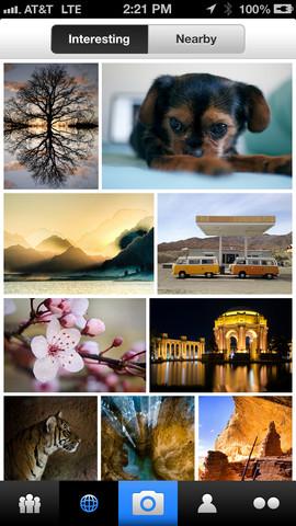 Flickr wereldwijd stream