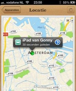 zoek mijn iphone ipad