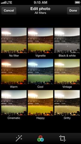 Twitter voor iPhone voorzien van fotofilters