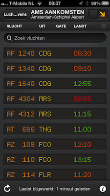 FlightBoard screenshot