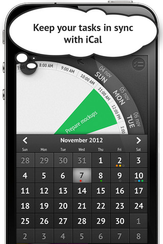 Sooner iCal agenda-sync op iPhone