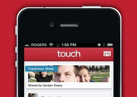 Touch instant messaging-app iPod touch