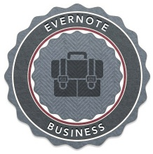 evernote business badge
