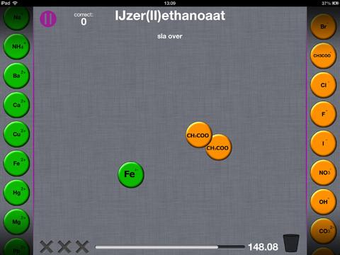 Chemistry Fun iPad onderwijs
