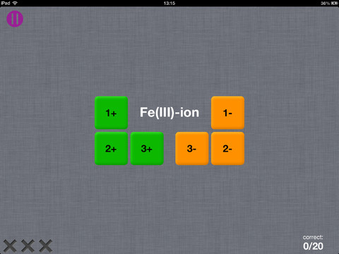 Chemistry Fun iPad elementen