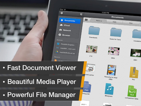 Documents by Readdle mappen