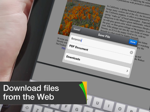 Documents by Readdle PDF opslaan