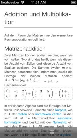 Prizma Wiki Offline artikel met wiskunde