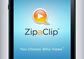 ZipaClip versleuteld video's versturen iPhone