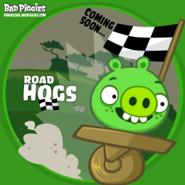 GU DI Bad Piggies Road Hogs