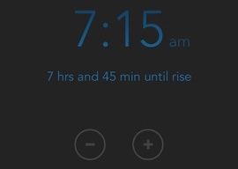 Rise iPhone snoozen