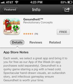 gesundheit-app-store-notes