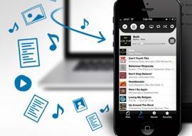 Tonido iPhone-app streaming header