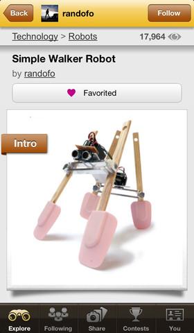 Instructables robot maken
