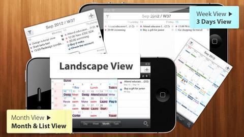 PlanBe nieuwe agenda-app gratis Easy Calendar iPhone